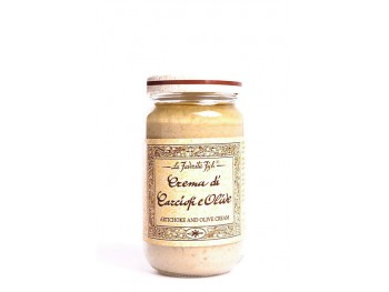 Crème d'artichauts et d'olives