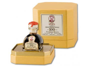 Condiment balsamique 100 ans d'âge ACETAIA REALE by LEONARDI