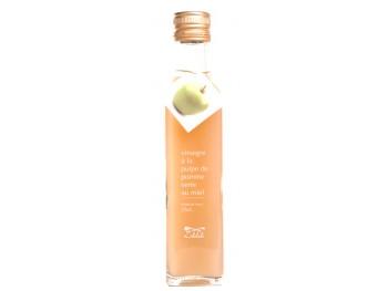 Vinaigre à la pulpe de pomme verte et au miel - Libeluile -