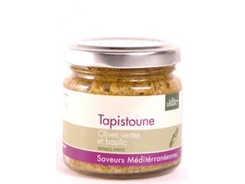 Tapistoune - olives vertes et basilic