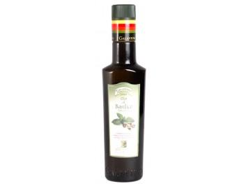 Spécialité à base d'huile d'olive et de basilic