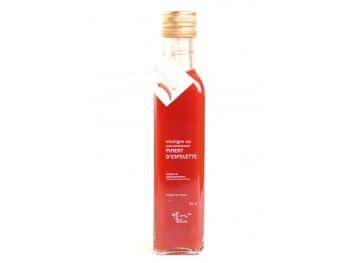 Vinaigre à la pulpe de piment d'Espelette - Libeluile -