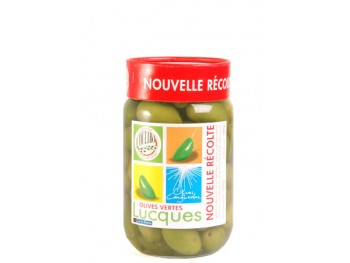 Olives Lucques nouvelle récolte Bocal