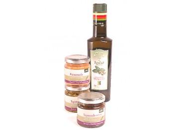 TAPENADES & BASILIC - Coffret cadeau gourmand