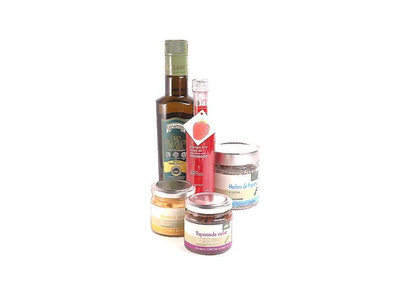 coffret cadeau huile d 39 olive et vinaigre coffret saveur. Black Bedroom Furniture Sets. Home Design Ideas