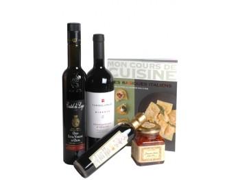 ELEGANCE ITALIENNE - coffret cadeau gourmand