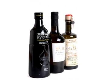 LES 3 ELEGANTES coffret cadeau huiles d'olive