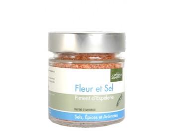 Fleur de sel de Camargue au piment d'Espelette