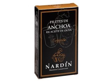 Anchois - filets à l'huile d'olive - Conservas Nardin