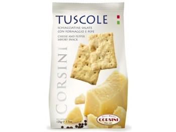 Tuscole au fromage et au poivre