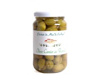 Olives cassées des Baux au Fenouil - Mas de l'Ange
