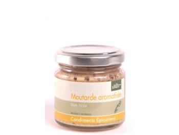 Moutarde aromatisée aux noix